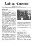 Archival Chronicle: Vol 4 No 4