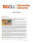 Archival Chronicle: Vol 26 No 3 by Bowling Green State University. Center for Archival Collections