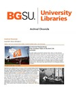 Archival Chronicle: Vol 29 No 2 by Bowling Green State University. Center for Archival Collections
