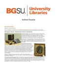 Archival Chronicle: Vol 30 No 1 by Bowling Green State University. Center for Archival Collections