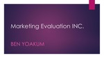 Marketing Evaluations Inc.