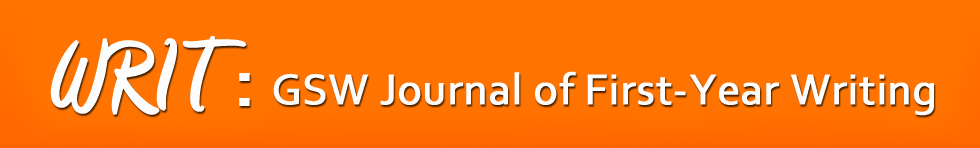 WRIT: Journal of First-Year Writing
