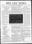 Bee Gee News December 20, 1920 by Bowling Green State University