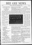 Bee Gee News December 20, 1920