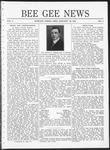 Bee Gee News January 20, 1921