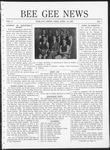 Bee Gee News April 25, 1921