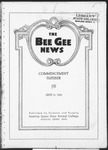 The Bee Gee News Commencement Number June 15, 1922