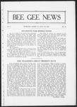 Bee Gee News July 28, 1922