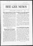 Bee Gee News October 20, 1922