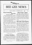 Bee Gee News November 20, 1922