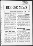 Bee Gee News January 1, 1923