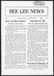Bee Gee News April 20, 1923 by Bowling Green State University