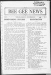 Bee Gee News Novemeber, 1923