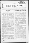 Bee Gee News March 19, 1924