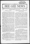 Bee Gee News July 23, 1924