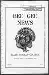 Bee Gee News November 25, 1924 by Bowling Green State University