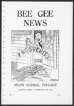 Bee Gee News February 20, 1925 by Bowling Green State University