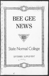 Bee Gee News September, 1926