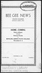 Bee Gee News October 25, 1929
