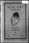 Bee Gee News December, 1929