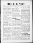 Bee Gee News March 31, 1931 by Bowling Green State University