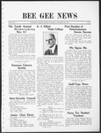 Bee Gee News October 19, 1931