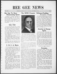Bee Gee News October 27, 1931