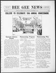 Bee Gee News Novemeber 3, 1931