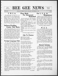 Bee Gee News December 8, 1931