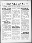 Bee Gee News November 1, 1932
