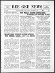 Bee Gee News Novemeber 9, 1932