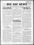 Bee Gee News Novemeber 15, 1932