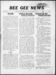 Bee Gee News Septemeber 19, 1933
