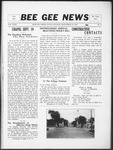 Bee Gee News September 27, 1933