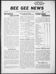 Bee Gee News October 11, 1933
