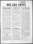 Bee Gee News October 18, 1933