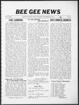 Bee Gee News November 22, 1933
