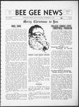 Bee Gee News December 20, 1933