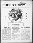 Bee Gee News February 21, 1934