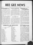 Bee Gee News May 29, 1935