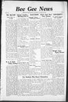Bee Gee News October 23, 1935