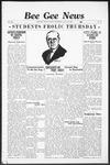 Bee Gee News July 29, 1936