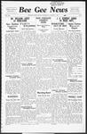 Bee Gee News October 7, 1936