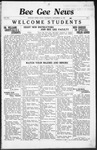 Bee Gee News September 14, 1936