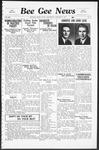 Bee Gee News January 27, 1937