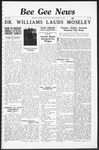 Bee Gee News March 31, 1937