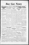 Bee Gee News November 17, 1937