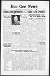Bee Gee News March 9, 1938