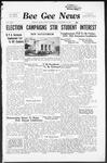 Bee Gee News September 28, 1938
