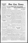 Bee Gee News November 9, 1938